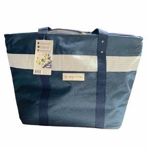Keepcool Shopping Cooler Bag Blue Large Capacity
